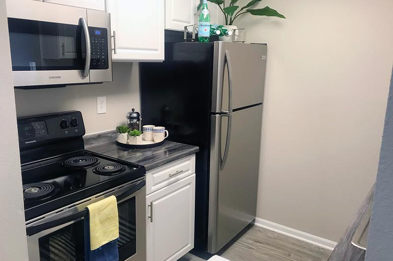Stainless Steel Appliances | Newly renovated apartments homes with stainless steel appliances.