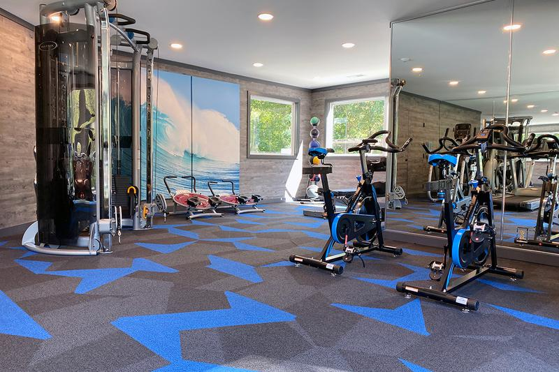 24-Hour Fitness Center | Maintain an active lifestyle with an invigorating work out in our 24-hour fitness center.