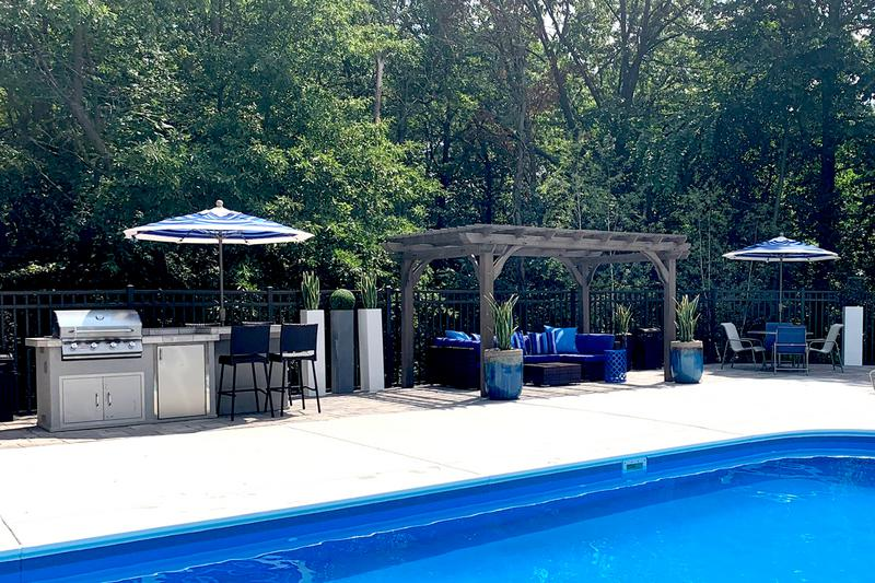 Poolside Grill | Utilize our gas grill and have a cookout by the pool.