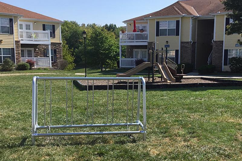 Bike Racks & Playground | Bike racks are located around the community for your convenience.  We also have an on-site playground.