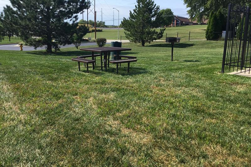 Picnic Area | Enjoy a cookout at our picnic area with grill.