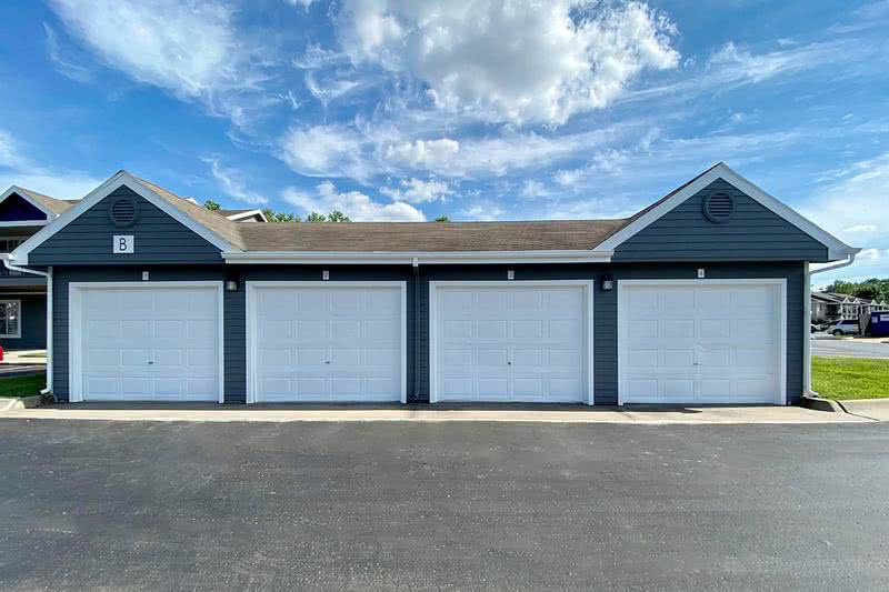 Garages Available | Garages are available to rent. Call the office for details.