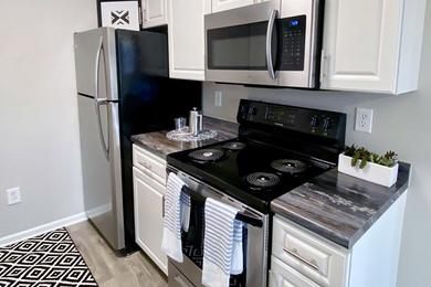 Stainless Steel Appliances | Kitchens feature all the appliances you've come to rely on, including a dishwasher.