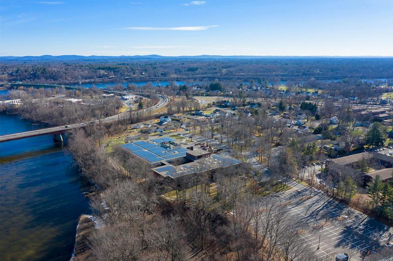 Aerial View | An aerial view of the Agawam Corporate Center