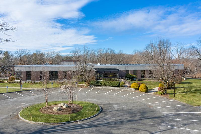 Front Entrance | Welcome to the Agawam Corporate Center.