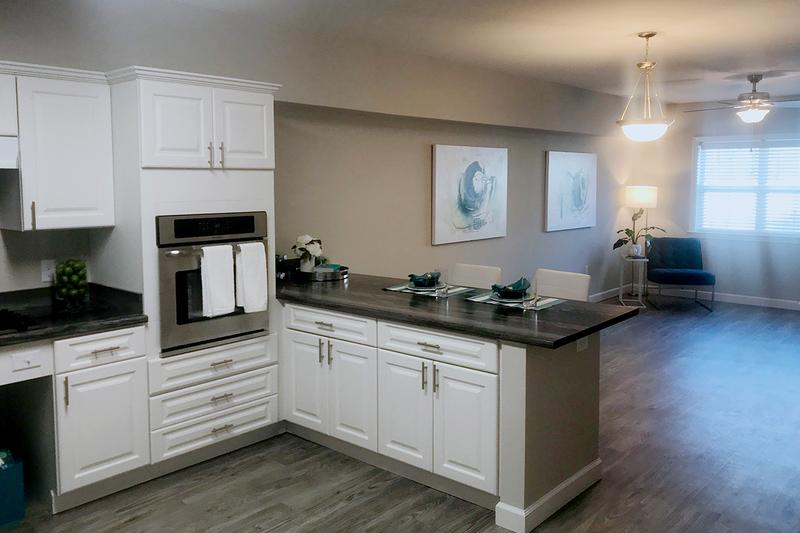 4x4 Kitchen & Dining | Enjoy spacious, open floor plan concepts.