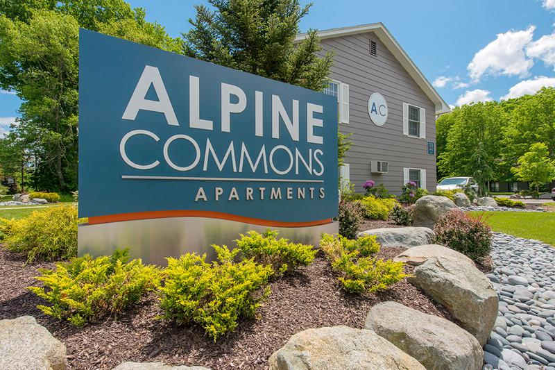 Welcome Home to Alpine Commons | Featuring studio, two, three, and four bedroom floor plans.