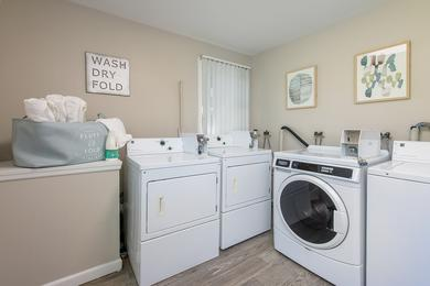 Community Laundry Room | We have a community laundry room so you won't have to drag all your dirty laundry to the Laundromat.
