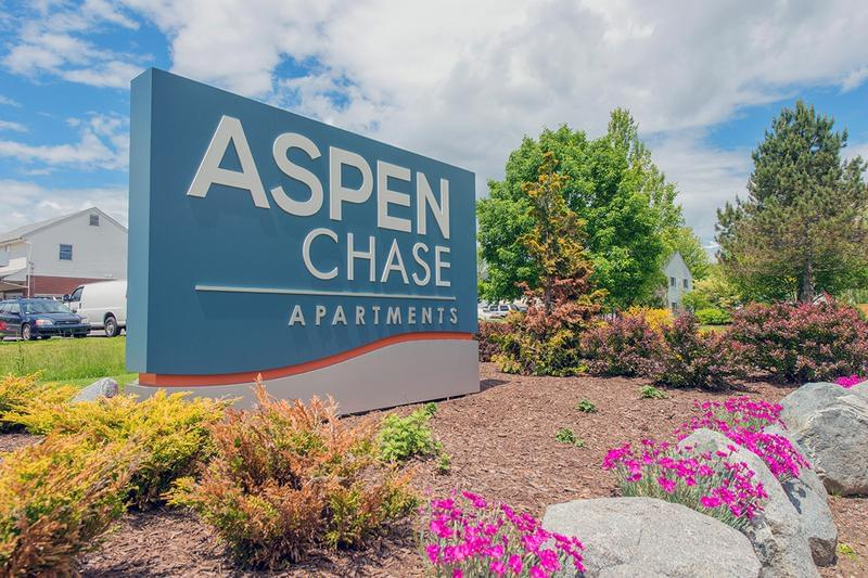 Welcome Home | Welcome to Aspen Chase, providing 1, 2, and 3 bedroom apartment homes.