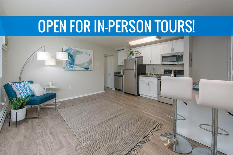 Spacious Open Floor Plans | You'll love our spacious open floor plans. We are excited to offer in-person tours while following social distancing and we encourage all visitors to wear a face covering.