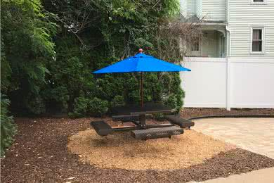 Picnic Patio | Have a picnic at our brand new picnic patio.
