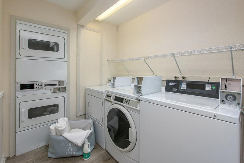 Community Laundry Room | Enjoy the convenience of our on-site 24-hour laundry facilities.