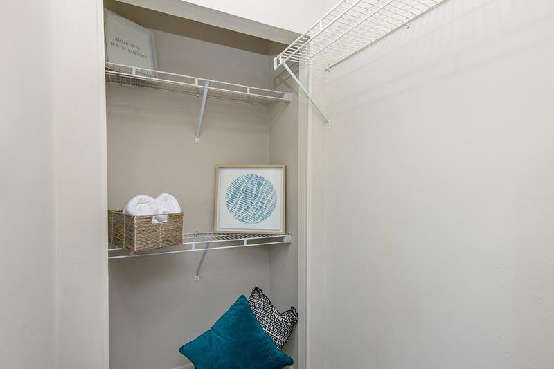 Walk-in Closet | Huge walk-in closets with closet organizers!