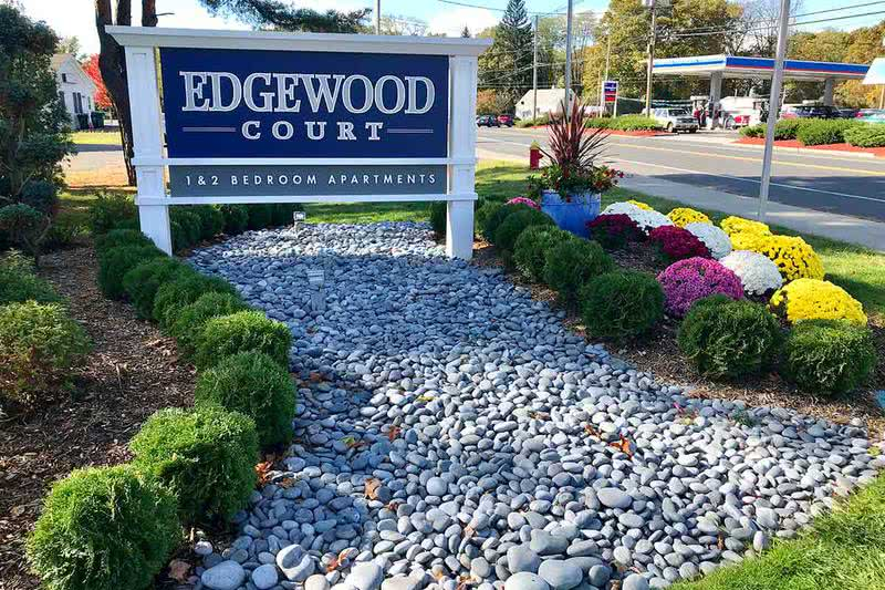 Edgewood Court in Chicopee MA | You will be welcomed home with beautifully landscaped grounds.
