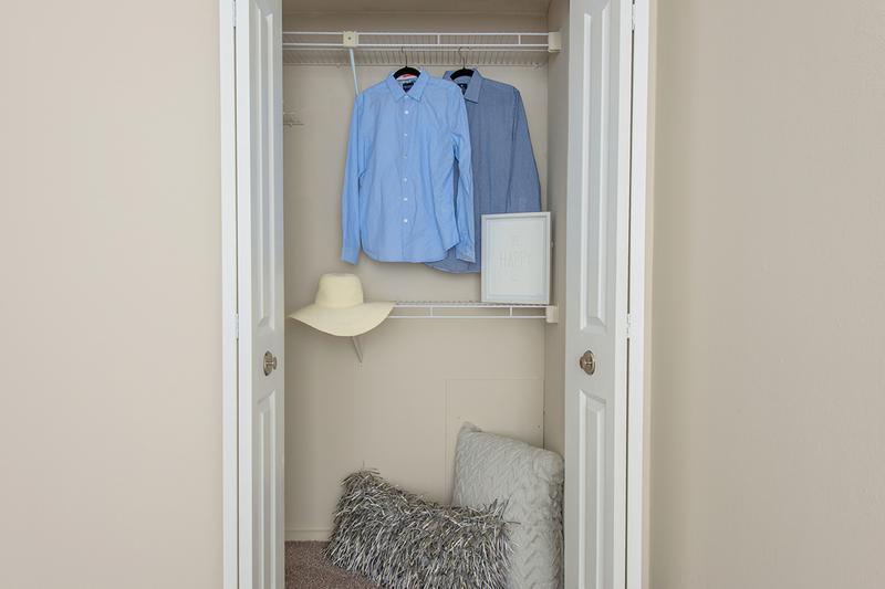 Spacious Closets | All bedrooms include closets with built-in organizers.