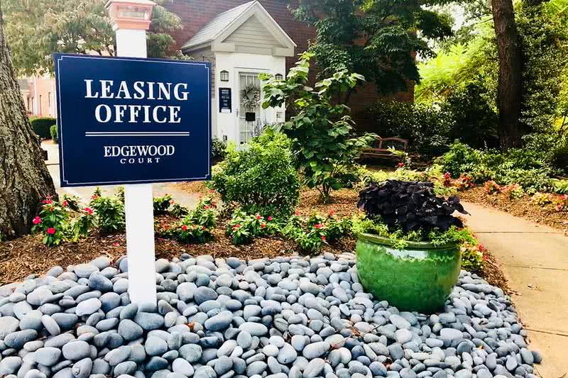 Leasing Office Exterior | Welcome to Edgewood Court Apartments in Chicopee, our friendly leasing staff is ready to help you find your new home.