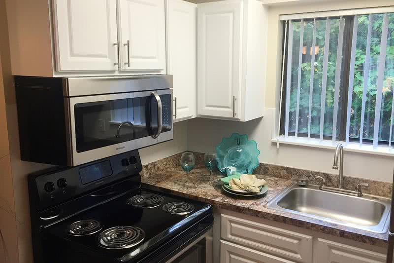 Stainless Steel Appliances | Be sure to ask about our newly renovated apartments with stainless steel appliances!