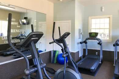 Fitness Center | Workout any time of the day in our 24-hour fitness center.