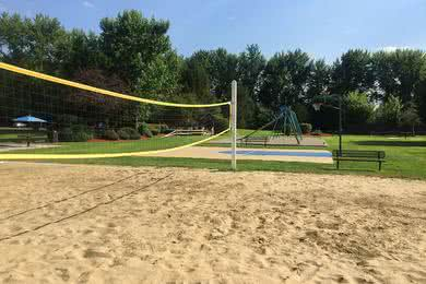 Sand Volleyball Court | Get some friends together for a game of volleyball.