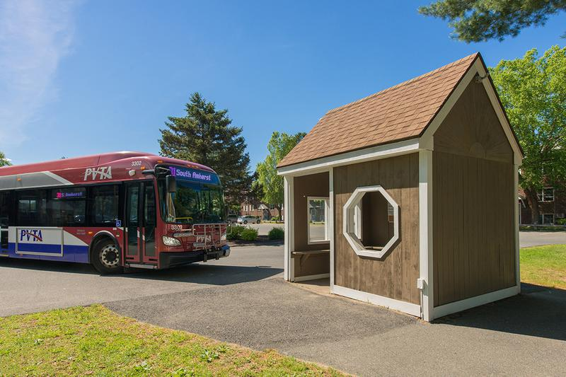 PVTA Bus Route | Sugarloaf Estates is conveniently located on the PVTA Bus Line and has a bus stop on site!