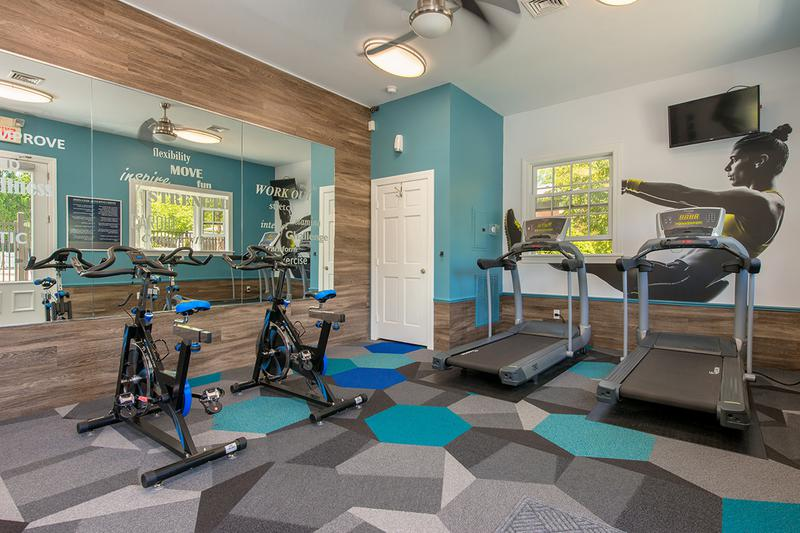 24-Hour Fitness Center | Get fit any time of day in our 24-hour fitness center.