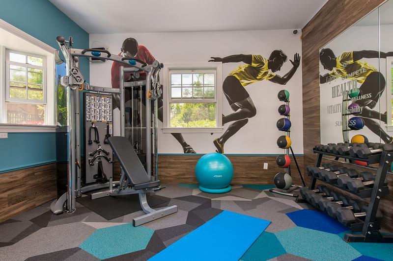 Cardio & Weight Training Equipment | Our fitness center features all the weight training and cardio equipment you need.