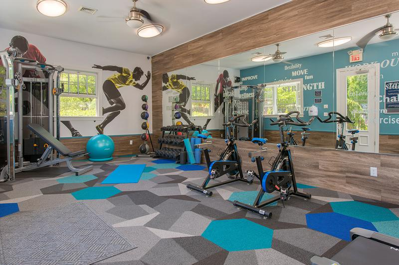 State-of-the-Art Fitness Center | Get in your workout in our brand new state-of-the-art fitness center.