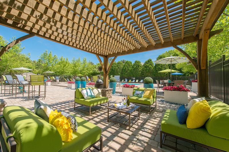 Poolside Cabana | Relax in the shade under our poolside cabana.