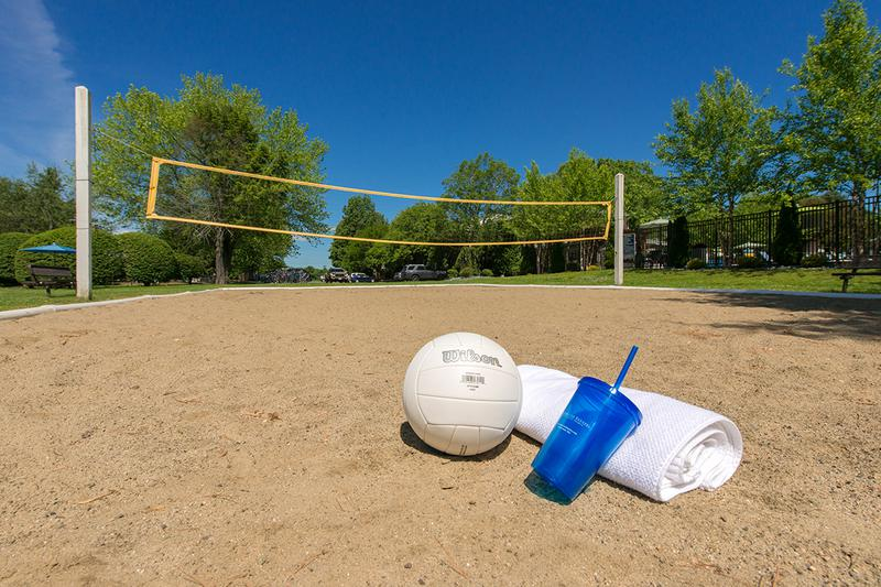 Sand Volleyball Court | Get in a game with friends at our sand volleyball court.