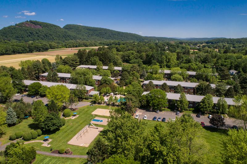 Overview of Sugarloaf | A beautiful aerial view of the 22 acres of Sugarloaf Estates.