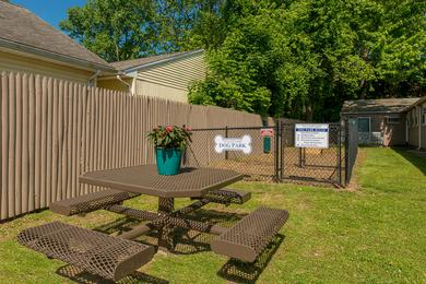 Picnic Area | Grill out at our picnic area featuring a charcoal grill.