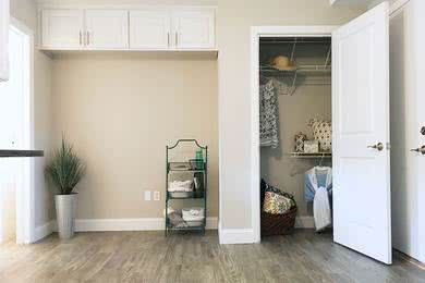 Storage Space | Our apartment homes feature plenty of storage space.