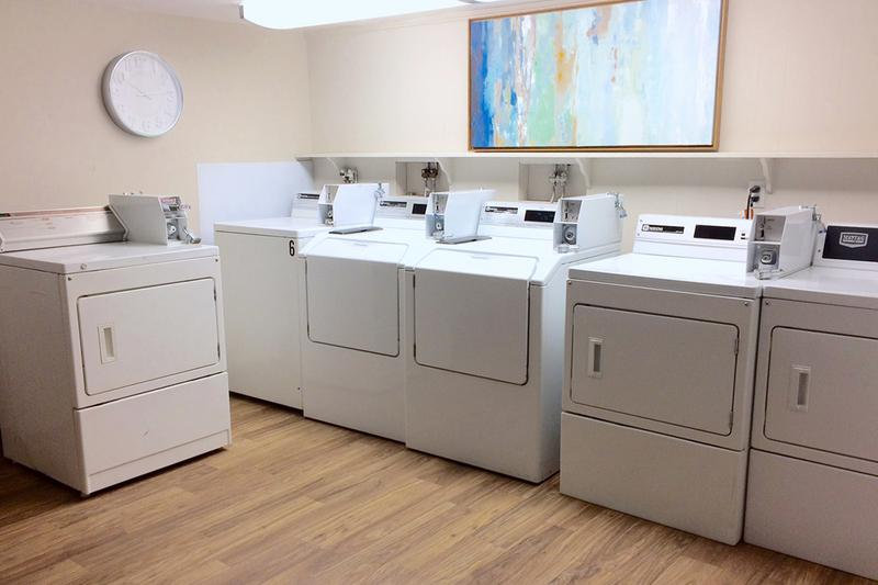 Laundry Facility | Convenient on site laundry room for all of our residents!