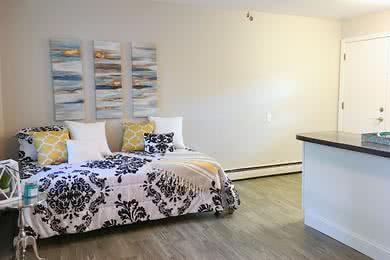 Bedroom | Great open space to utilize as bedroom/living area.