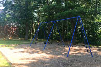 Swing Set | Bring the kids to the swing set for some fun.