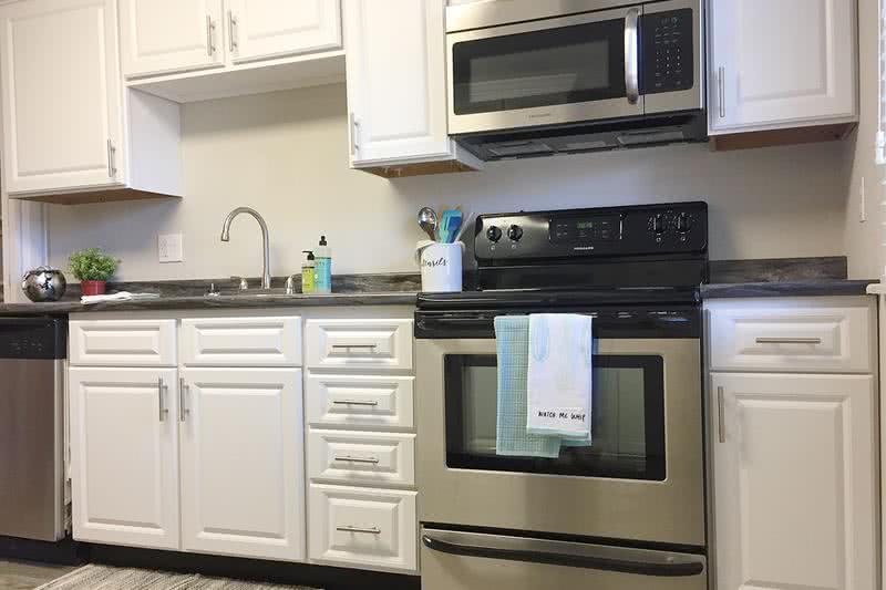 Stainless Steel Appliances | Our updated apartment homes feature stainless steel appliances.