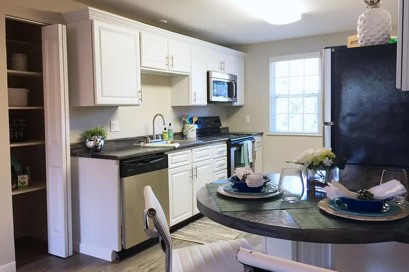 Full Kitchen and Pantry | Updated kitchens featuring stainless steel appliances and a pantry.