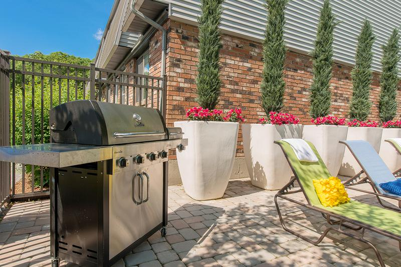 Gas Grill | Utilize our poolside gas grill for a cookout.