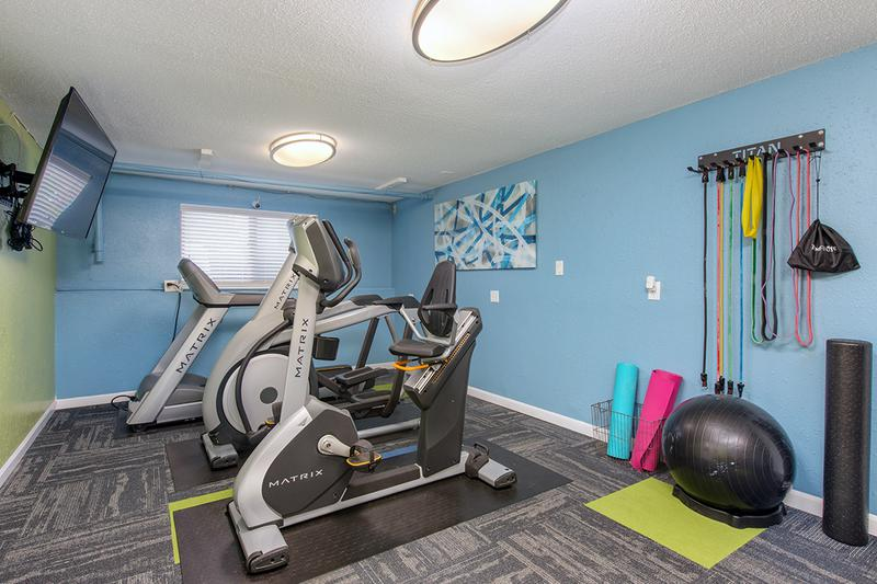 Fitness Center | Get a workout in our fitness center.
