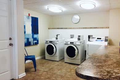 Community Laundry Center | Get your laundry done right on-site in our community laundry center.