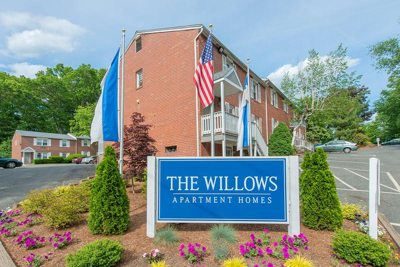 Welcome Home to The Willows | The Willows offers peaceful apartments in Westfield, MA for rent.
