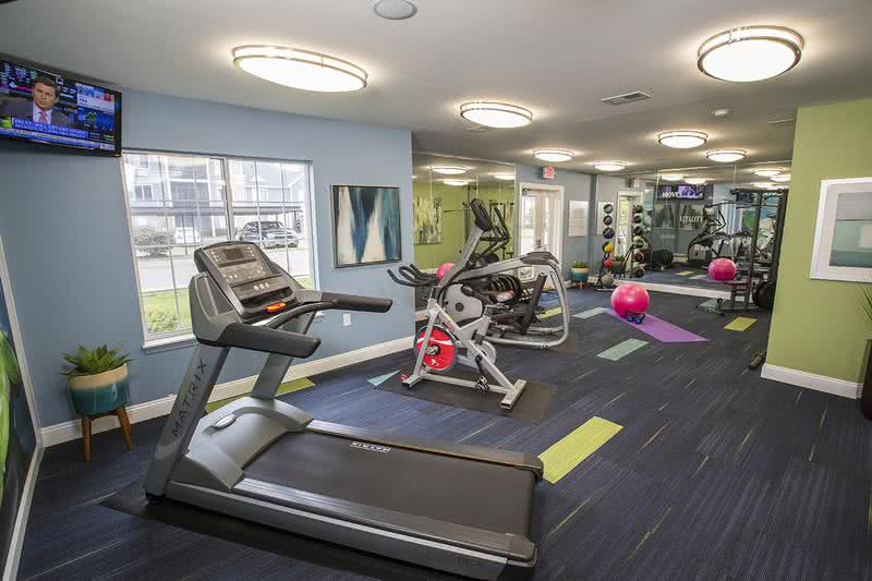 State-of-the-Art Fitness Center | Get an invigorating workout at our brand new state-of-the-art fitness center open 24-hours a day.