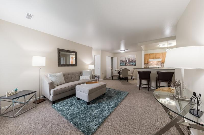 Spacious Open Floor Plans | You'll love our spacious, open concept floor plans.