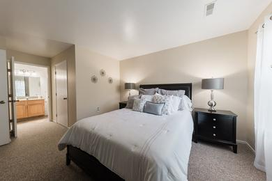 Master Bedroom | Spacious master bedrooms featuring an en suite and walk-in closet.