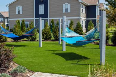 Hammock Garden | Relax after a long day at our hammock garden.