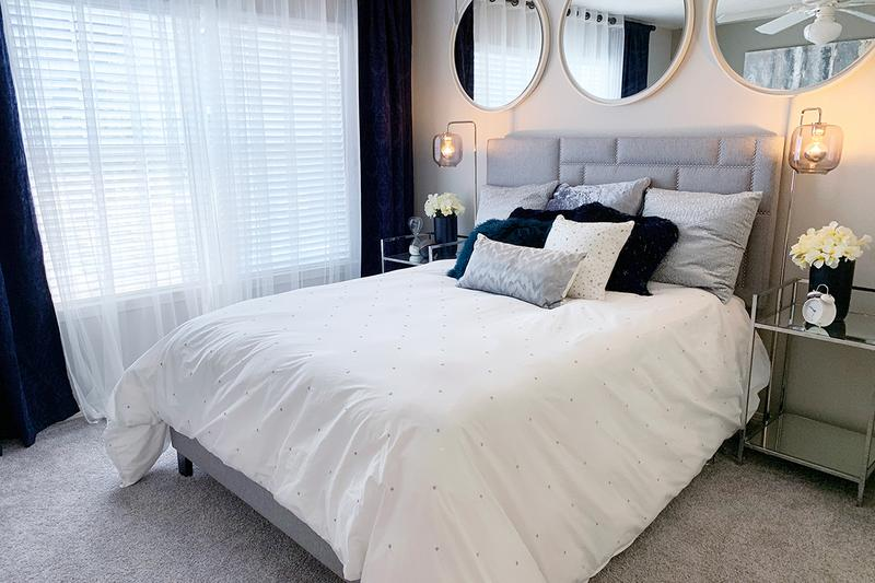 Master Bedroom | Master bedrooms featuring spacious walk-in closets with built-in organizers.