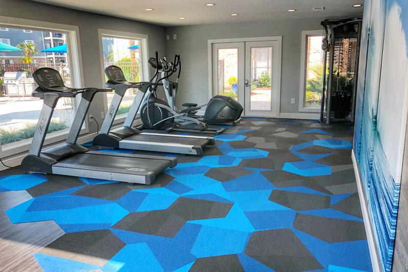 Fitness Center | Get in you workout anytime of day at our 24-hour fitness center.