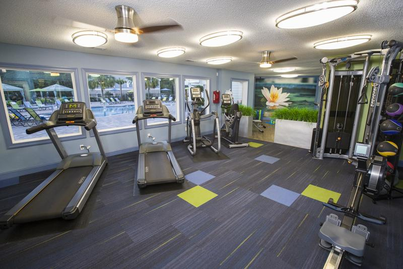 Fitness Center Coming Soon | Get fit in our 24-hour fitness center. Updates coming soon!