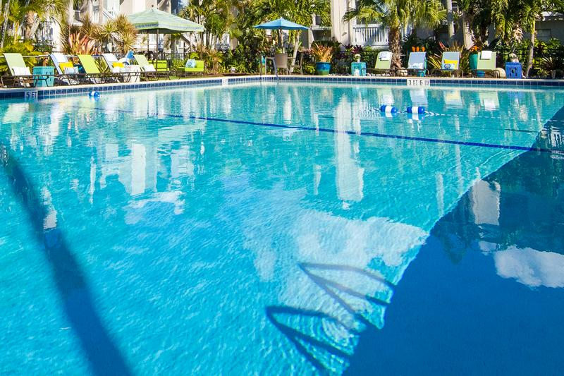 Resort-Style Pool | Take a dip in our resort-style pool or relax on our expansive sundeck.