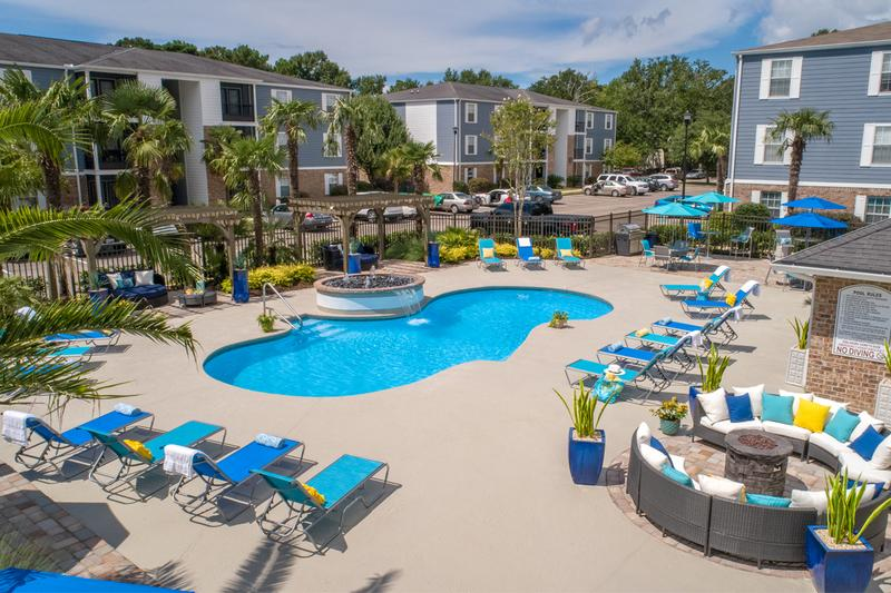 Resort-Style Pool | Escape the sun and take a dip in our resort-style pool.